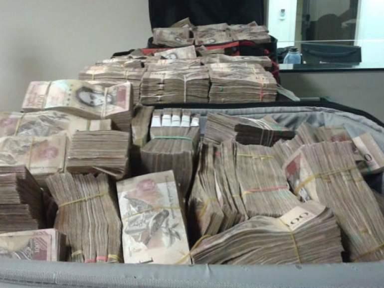 Mais de R$ 6 milhões em dinheiro venezuelano apreendidos